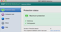 NOD32 Antivirus 4 Business Edition pro Mac