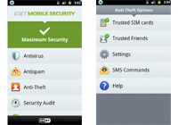 ESET Mobile Security pro smartphony s Androidem