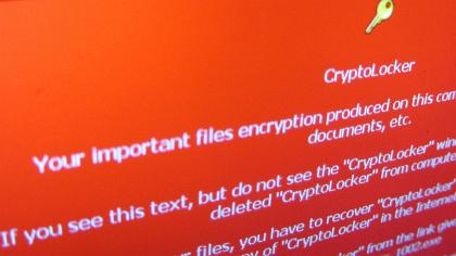 Obr. 1: Obrazovka CryptoLockeru – problém splacením