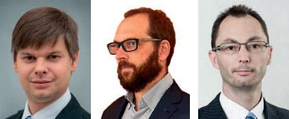 Respondenti zleva: Mgr. Ondřej Malý, Ing. Libor Sušil a Mgr. Jiří Šmíd