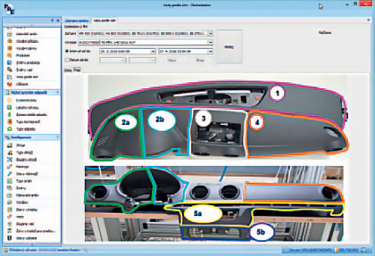 Obr.: Ukázka klientského rozhraní systému PlantWatcher