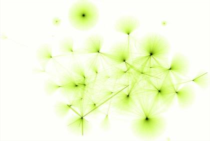 Obr. 1: Schematické znázornění dodavatelských řetězců a jejich vazeb
