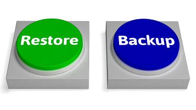 restore, backup
