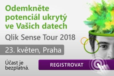 Qlik Sense TOur 2018, 23. květen, Praha