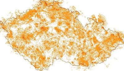 Mapa pokrytí IoT