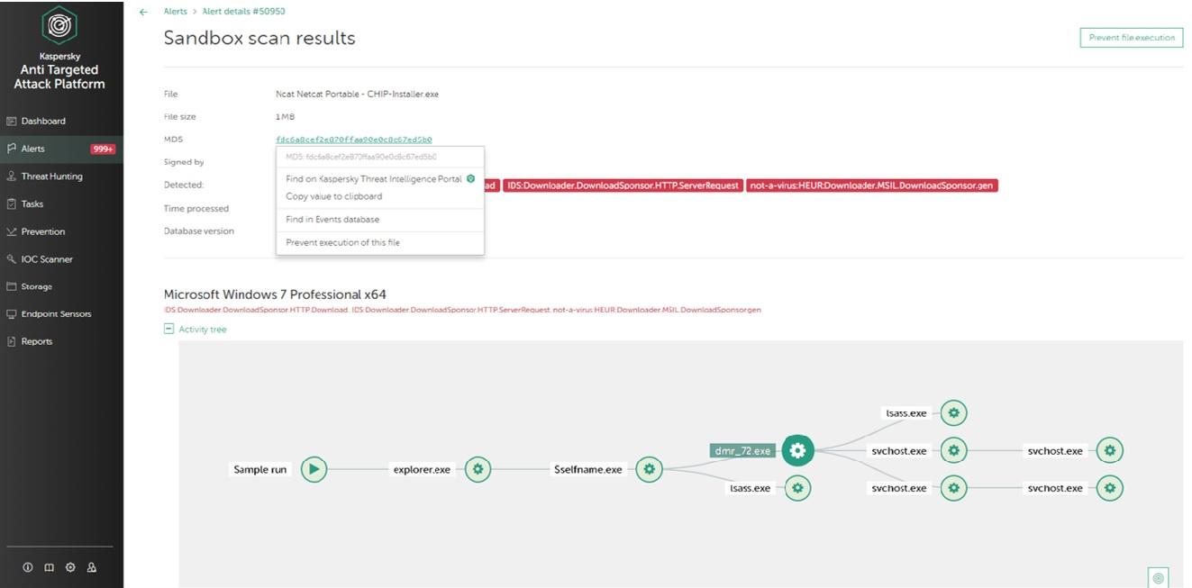 Kaspersky_EDR_Screenshot_Sandbox_Scan_result
