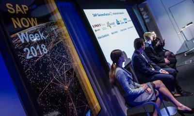 Panelová diskuse se zákazníky na SAP NOW WEEK 2018