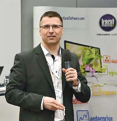 Ing. Martin Válek, generální ředitel společnosti KARAT Software a.s.
