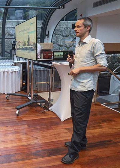 David Čermák, CTO společnosti Prozeta, představil některé z aktuálních IoT projektů společnosti.