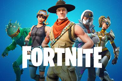 Populární hra Fortnite