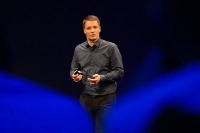 Obr. 4: Martin Běhůnek, projektový manažer K2, prezentuje rozšířené možnosti realizace promo akcí v nové verzi K2 e-shopu.