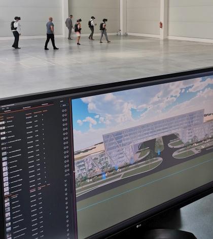 VR prezentace projektu Panattoni Pilsen Digital Park