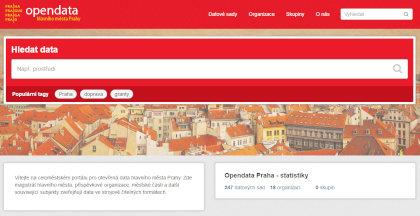 opendata hlavního města Prahy