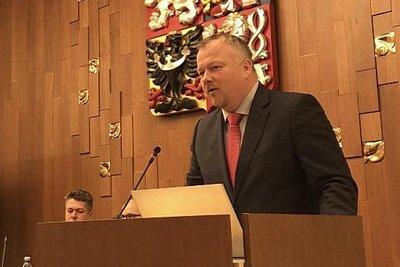 Poslanec Robert Králíček, místopředseda podvýboru pro e-Government