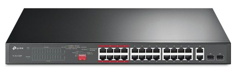 Nový unmanaged switch TP-Link TL-SL1226P