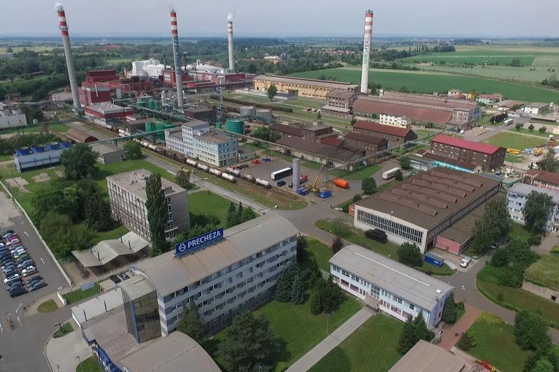 Společnost Precheza je významným výrobcem a dodavatelem anorganických pigmentů a již přes 50 let vyrábí oxid titančitý.