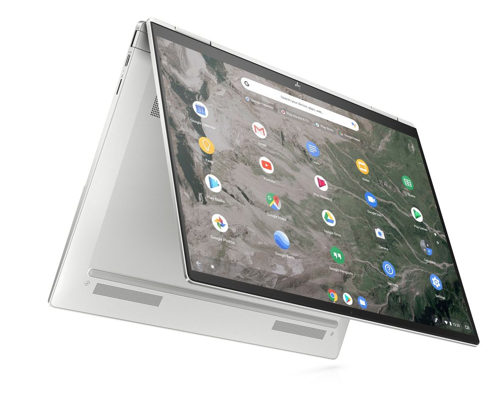 HP Elite c1030 Chromebook Enterprise je první chromebook na světě s integrovanou reflexní obrazovkou zajišťující ochranu soukromí.