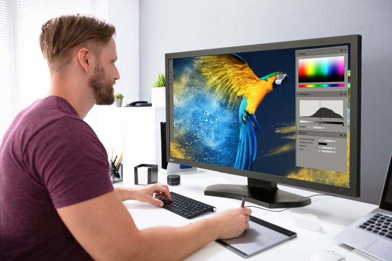 "NEC uvádí 31"" True 4K desktop displej MultiSync PA311D"