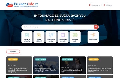 Portál BusinessInfo.cz