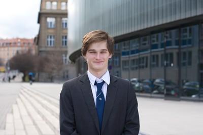 Šimon Mandlík, vítěz IT SPY