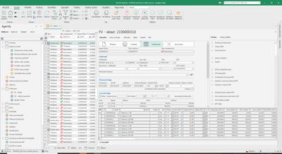 Obr. 1: Ukázka uživatelského rozhraní nového informačního systému Helios Nephrite