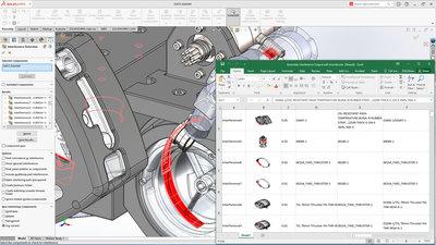 Assembly Modeling - interference detection composite - Tvorba sestavy - detekce kolizí